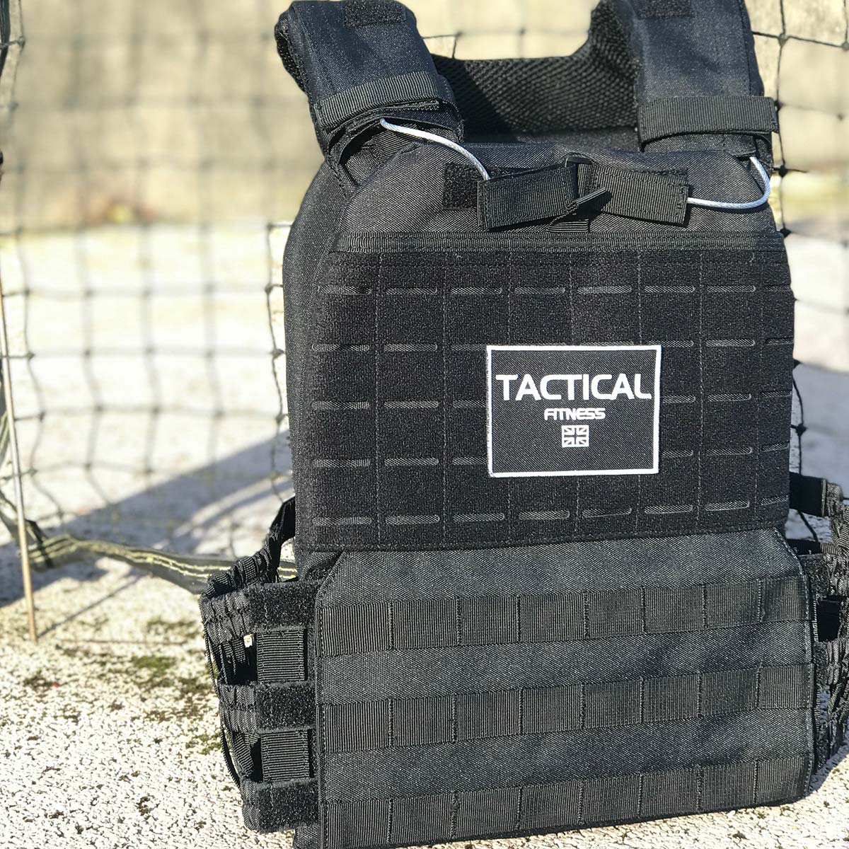 Tactical Fitness Weighted Training Vest